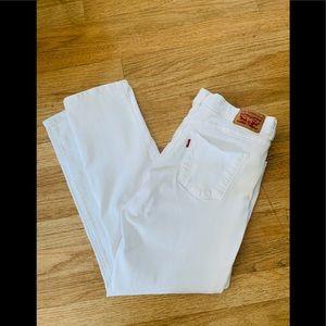 Levi's Classic Strait Leg Mid Rise Jeans w Stretch